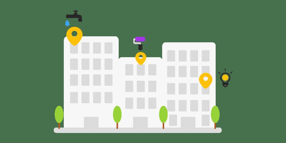 Projets de chantiers en ville