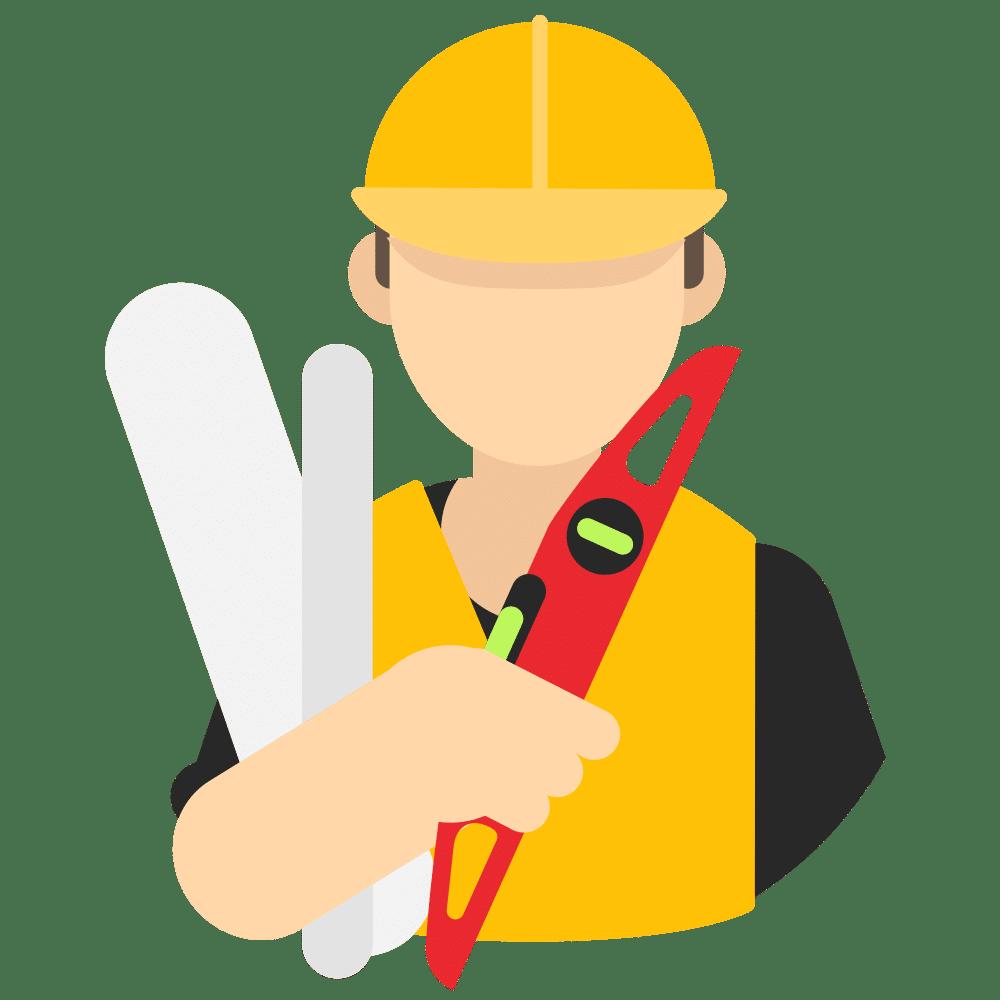 icône professionnel du bâtiment
