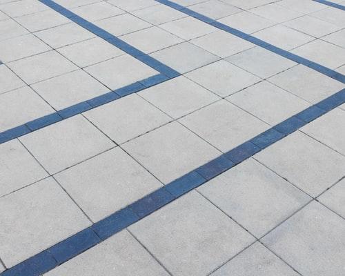 carrelage posé sur le sol